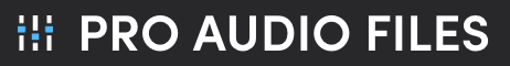Pro Audio Files Logo Top